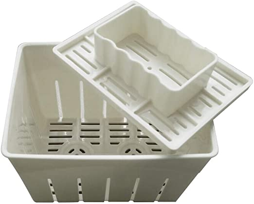 Soybean Curd Cheese Cloth Kitchen Tools Tofu Press Mould 2PCS Plastic DIY Homemade Tofu Maker Pressing Mold Kit