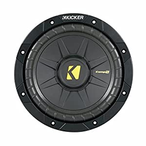 "New KICKER COMPS 40CWS84 8"" 400W Car Subwoofer Power Sub SVC 4 Ohm CWS84"