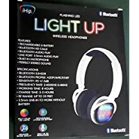 iHip Flashing LED Light Up Wireless Headphones