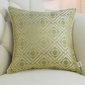 Decorative pillowcase european style sofa jacquard pillow bedroom bedside cushions filled full, invisible zipper, home accessories-C 30x42cm(12x17inch)Version B
