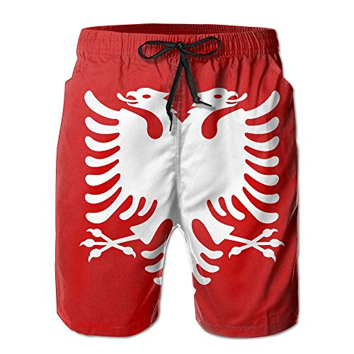 Albanian Eagle Men's Summer Shorts Casual Boardshort