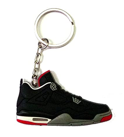 new products 8ceec e9868 Amazon.com : Air Jordan 4/IV Bred Black/Red Sneakers Shoes ...
