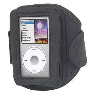 Trixes - Brazalete/estuche deportivo negro para Apple iPod Classic para hacer deporte