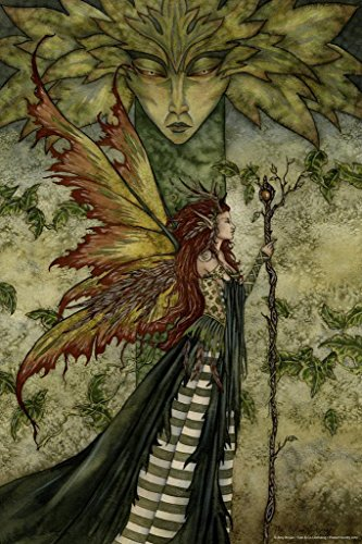 The Green Woman by Amy Brown Art Print Mural Giant Poster 36x54 inch