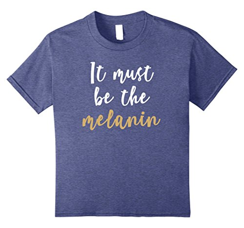 Melanin African American T-shirt for Women, Teens, & Girls