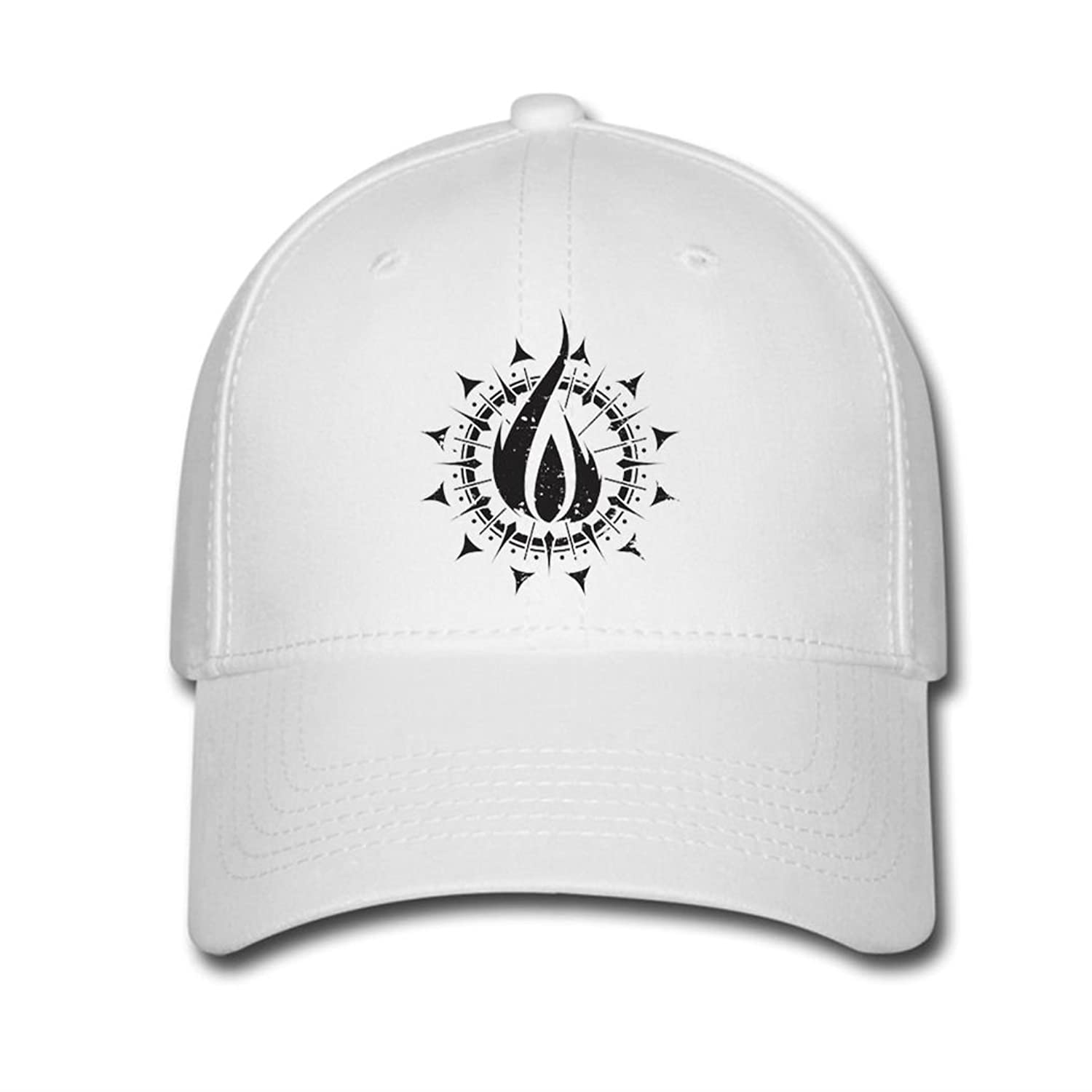 Adjustable In Flames Baseball Cap Running Cap