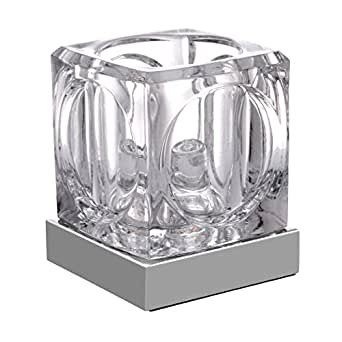 LED New Modern Ice Cube Glass Touch Sensor Table Desk Lamp