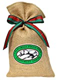 Fiddyment Farms 1 Lb Lightly Salted Pistachios in Beige Burlap Bag Review