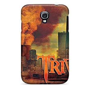 Protector Hard Cell-phone Case For Samsung Galaxy S4 With Customized Realistic Breaking Benjamin Skin RudyPugh