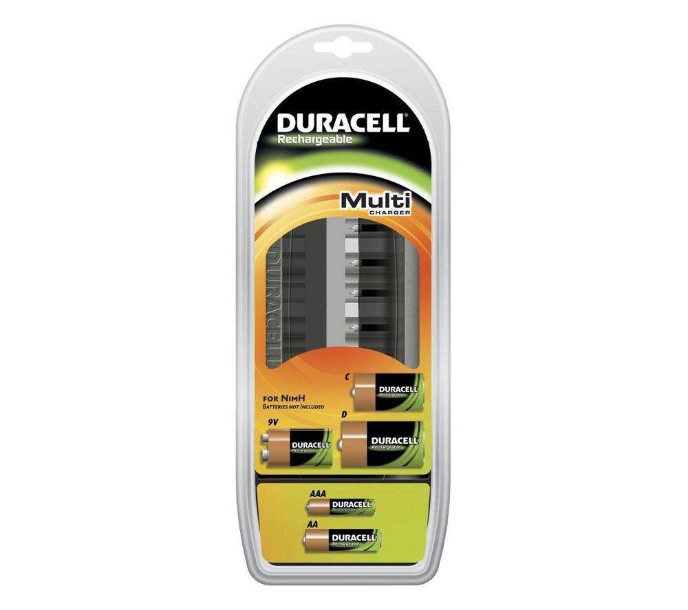Duracell 75044676 - Cargador universal para 8 pilas AA u 8 ...
