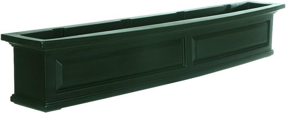 Mayne 4832-G Nantucket Window Box, 5 , Green