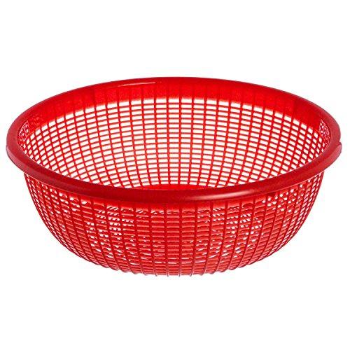 Excellanté 12.5-Inch Plastic Wash Basket