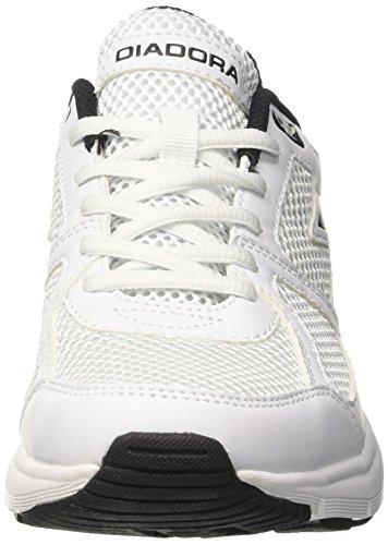 Chaussures Homme Cassé Running nero 8 De Shape Blanc Compétition bianco Diadora 6nBWfqB