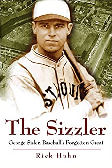 Image result for images of George Sisler:The Sizzler book cover