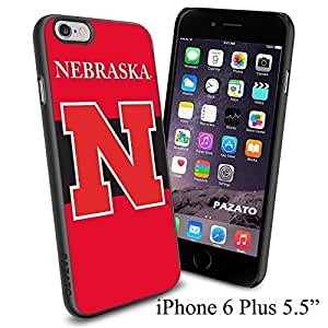 NCAA NEBRASKA Cool Case Cover For Apple Iphone 5/5S Smartphone Collector iphone PC Hard Case Black
