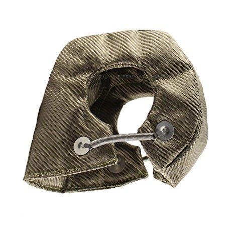 JC Performance Products USA Double-Sided Heat Shield Lava Titanium Turbo Blanket (Big T3/T4) (Heat Shield Bracket)