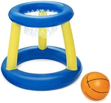 N/A Canasta Hinchable y Flotante, Canasta Hinchable Baloncesto ...