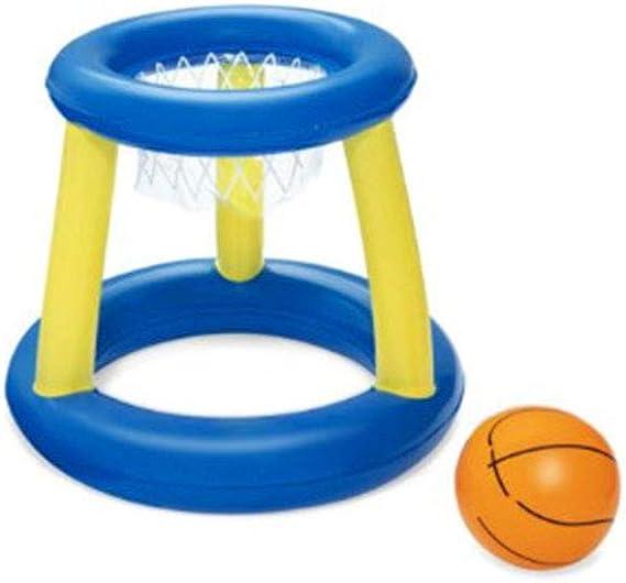 N/A Canasta Hinchable y Flotante, Canasta Hinchable Baloncesto, Juego de Fiesta de Piscina Inflable Flotante Piscina Inflable Juguetes de Natación Juguete de Deportes Acuáticos de Verano: Amazon.es: Juguetes y juegos
