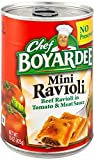 Chef Boyardee Mini Ravioli, 15 oz Can (Pack of 16)