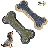 Dog Chew Toys - Interactive and Chewing Cotton Bone Toys - Nontoxic Bone Toy - Cleans Teeth (Dog Bone Toys)