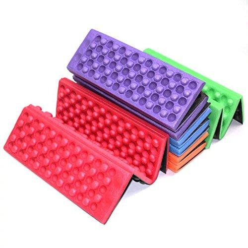 Eva Foam Stadium Seat Cushion (2 Pcs Outdoor Mountaineering Dots Honeycomb Cushion Foam Portable Foldable XPE Picnic Pad Ultra Light Field Waterproof Pad)