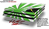 WraptorSkinz PS4 Pro Skin Rising Sun Japanese Flag Green - Decal Style Skin Wrap fits Sony PlayStation 4 Pro Console