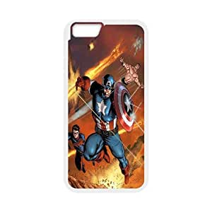 JenneySt Phone CaseSuper Hero Caption American For Apple Iphone 6 Plus 5.5 inch screen Cases -CASE-16