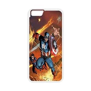 High Quality £¨SteveBrady Phone Case£©Caption American Superhero For Apple Iphone 6 Plus 5.5 inch screenPATTERN-14