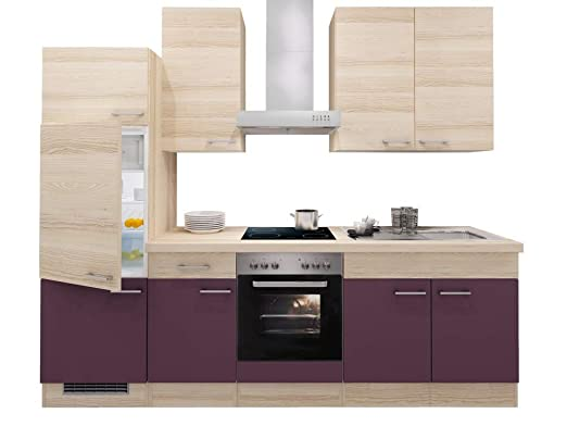 Smart Möbel Zafia - Bloque de Cocina, 270 cm, Color ...