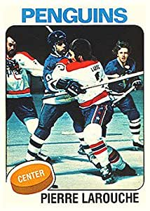1975 O-Pee-Chee Regular (Hockey) Card# 305 Pierre Larouche of the
