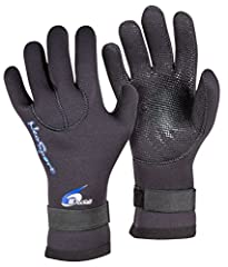 All-purpose neoprene gloves feature glued and sewn construction with a durable, hi-grip, cyclone palm design. Velcro-elastic closure at wrist. These glove are designed to keep your hands warm when used in and around cold water. Generally used...