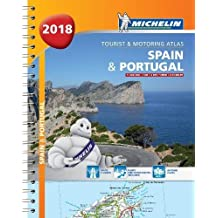 Spain & Portugal 2018 - Tourist and Motoring Atlas (A4-Spiral) 2018
