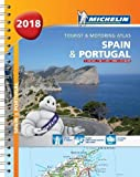 Spain & Portugal 2018 - Tourist & Motoring Atlas: Tourist & Motoring Atlas A4 spiral (Michelin Road Atlases)