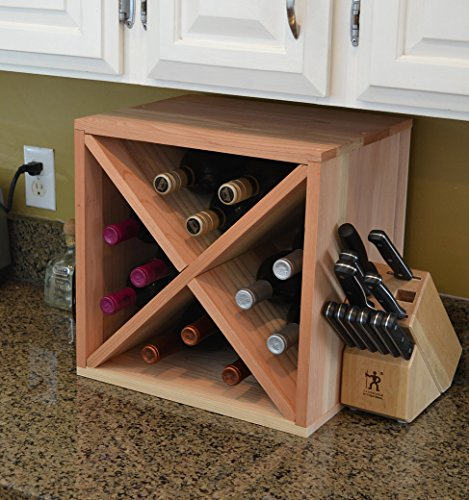 Creekside 12 Bottle Wine Cube, 12