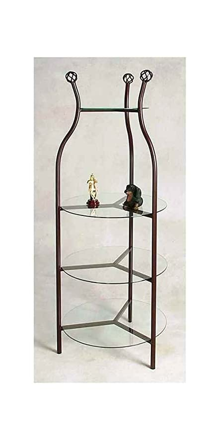 Round Display Etagere (Antique Bronze)