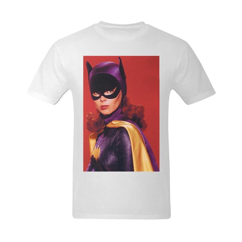 NeloimageMen Handsome Batgirl Design T-Shirt