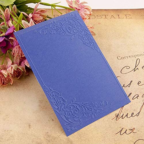 KWELLAM Flowers Dragonfly Plastic Embossing Folders for Card Making Scrapbooking and Other Paper Crafts,10.5x14.8cm