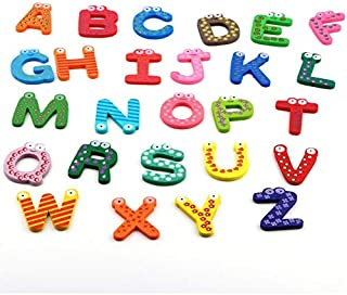 180/pcs color/é magn/étique en Caoutchouc de la Capitale Alphabets EVA en Caoutchouc Aimants pour r/éfrig/érateur Lettres b/éb/é Jouer et Jouets dapprentissage /éducatif Lettres pour 3/Ans Enfant