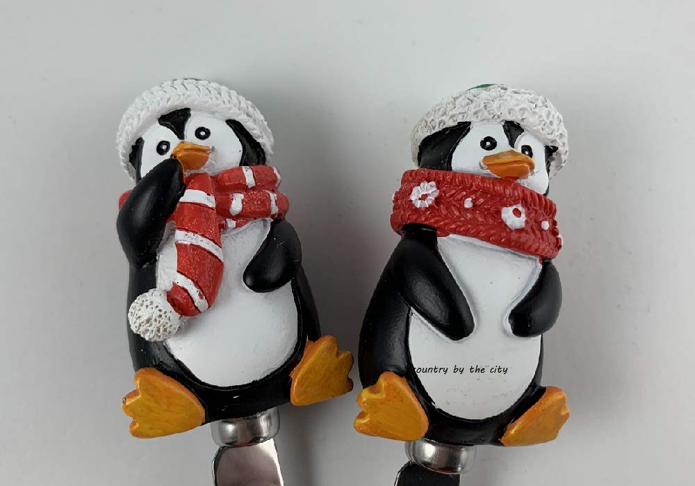 Holiday Penguin Cheese Spreader