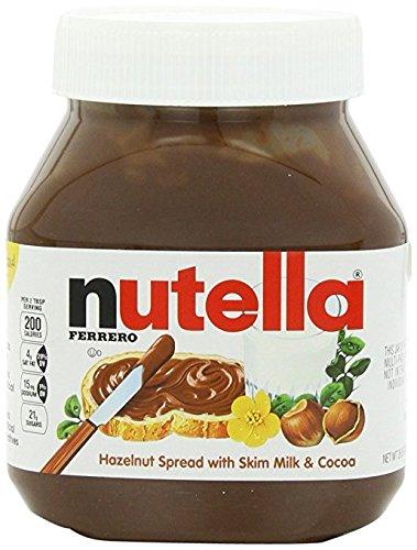 Nutella Hazelnut Spread, 33.5 oz each, 4 Count by Nutella