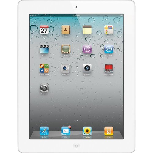 Apple iPad 2 MC980LL/A 9.7-Inch 32GB (White) 1395 - (Renewed) (Apple Ipad 64gb Air A7)