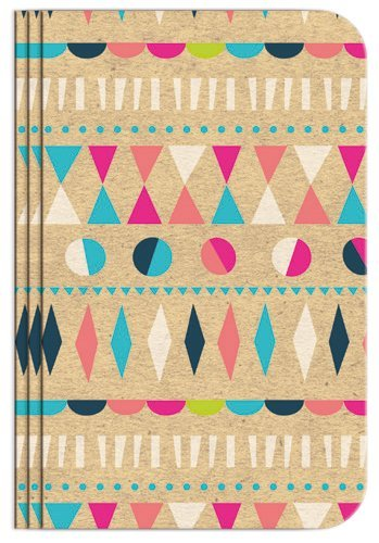 Pocket Notebook Set (12 NotebooksTotal) 3.25'' x 5.25'' Lined Pages, Stitched Binding, 4 Different Designs Stationery Notepad by B-THERE (Image #2)
