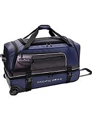 Travelers Choice Pacific Gear 30 Drop-Bottom Rolling Duffel Bag