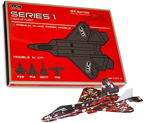 Wing Craft - Series 1 Paper Airplanes - Titans of Flight - Fly Model Aircraft