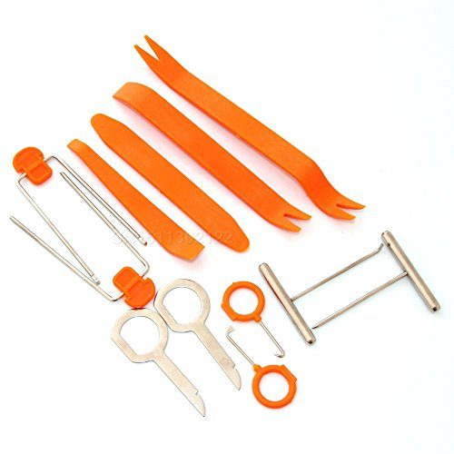 Trudged(TM) Disassembly Tool 12pcs/set Fit For Audi A4 B6 A3 A6 C5 Q7 A1 A5 A7 A8 Q5 R8 TT S5 S6 S7 S8 SQ5 (A8 Set Audi)
