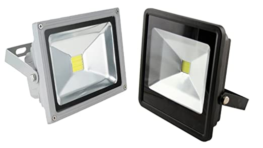 111 opinioni per Faro led SLIM faretto IP66 alta luminosita' luce bianca fredda 10W 20W 30W 50W