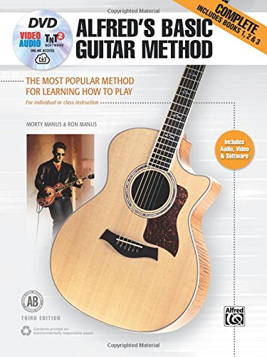 (Alfred's Basic Guitar Method, Complete: The Most Popular Method for Learning How to Play, Book, DVD & Online Audio, Video & Software (Alfred's Basic Guitar Library))