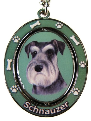 Schnauzer - Uncropped Key Chain