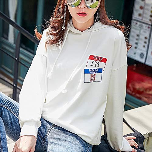 's Iangl shirts Pour Longues Femmes À T Sweats Capuche shirt Et Women Manches Automne Sweat 2018 rYqwYOxpX