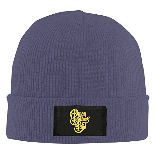 Gdlov The Allman Brothers At Fillmore East Man Women Unisex Winter Warm Acrylic Watch Knit Wool Beanie Cap Hat Size One Size US Navy